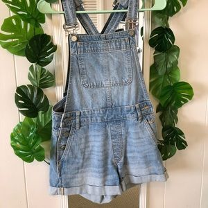 Urban Outfitters short overalls